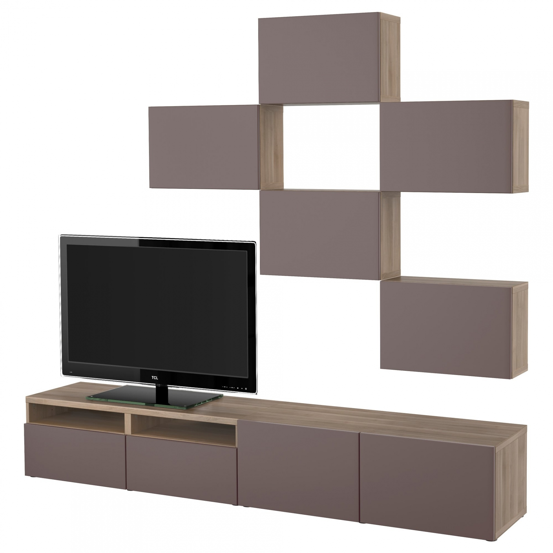 Meuble tv blanc design ikea