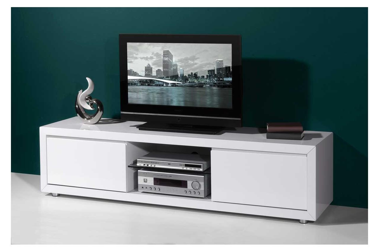 Meuble tv 180 cm blanc