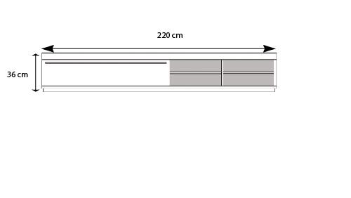 Meuble tv 30 cm de largeur