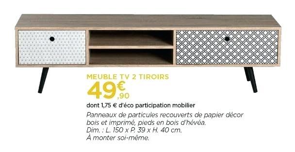 Meuble tv avec echelle