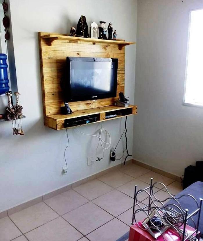 Idee meuble tv palette