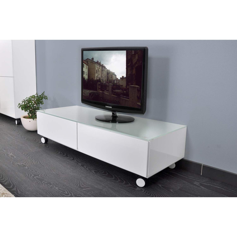 Meuble tv aroulette