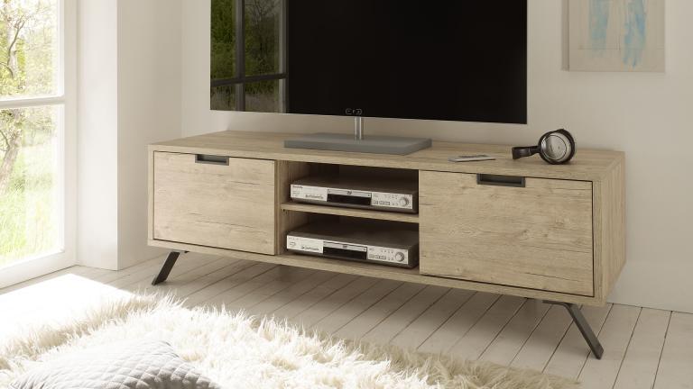 Meuble tv industriel mobilier moss