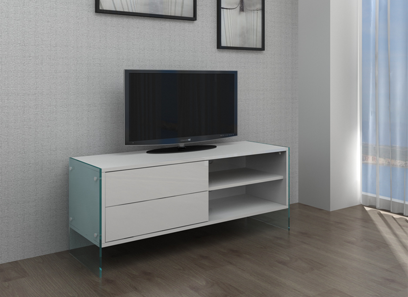 Meuble tv blanc habitat