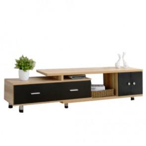 Petit meuble tv bois exotique