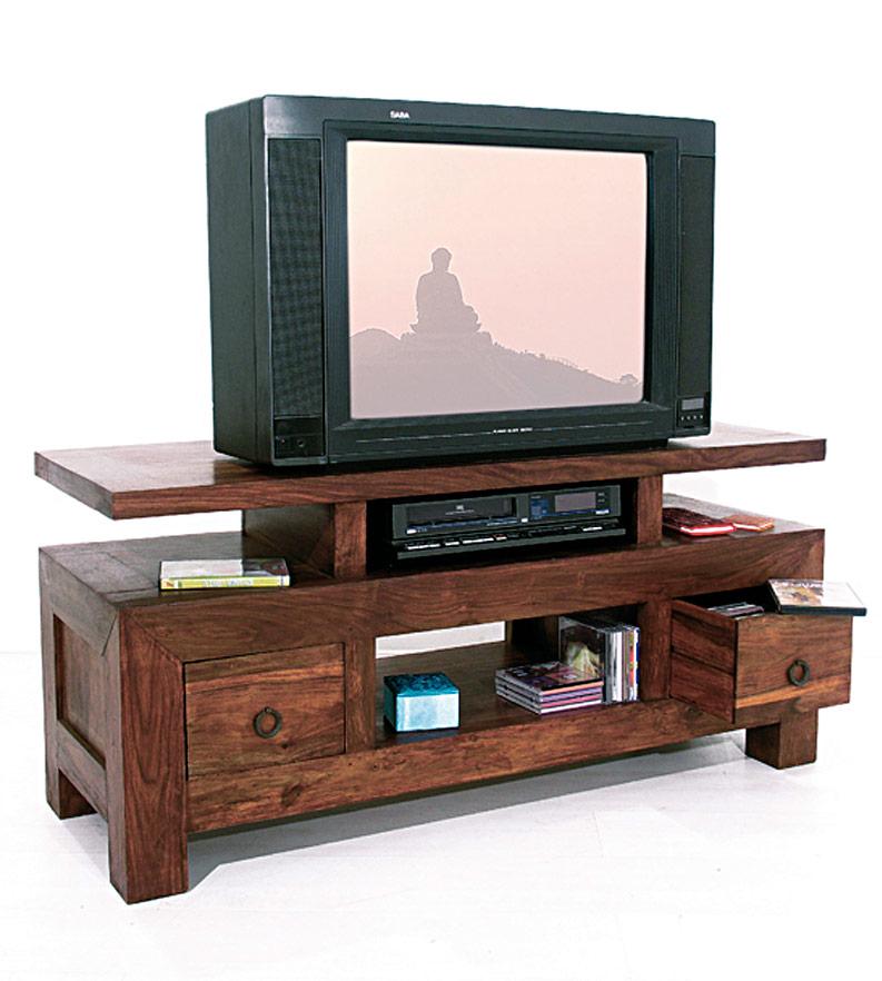 Meuble tv en bois de palissandre