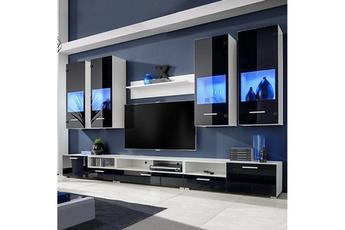 Meuble tv mural vitre