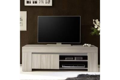 Petit meuble tv moderne bois