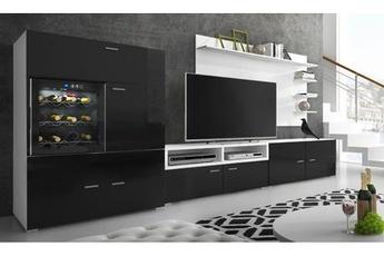 Meuble tv noir hauteur 1m