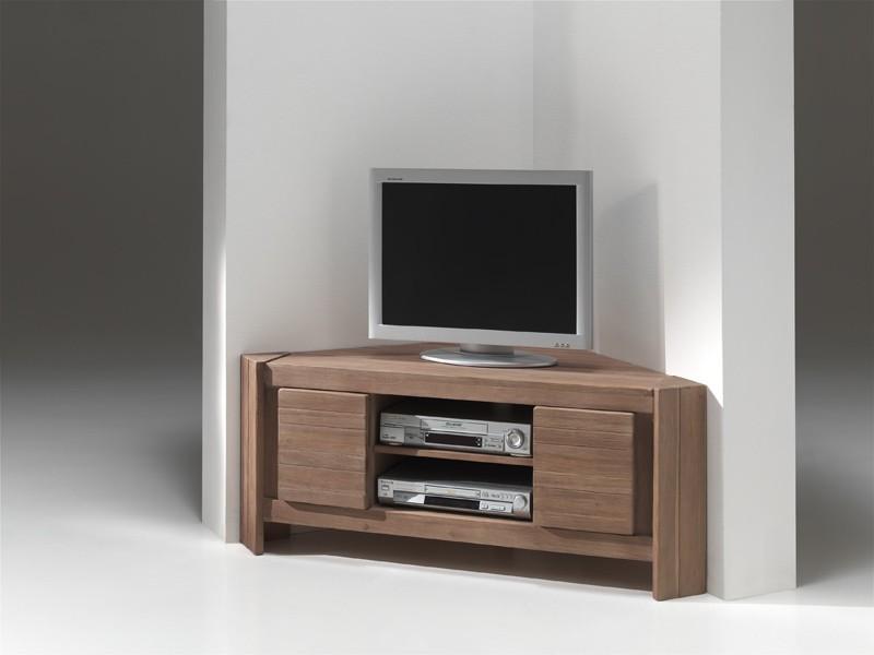 Meuble tv hifi d'angle moderne