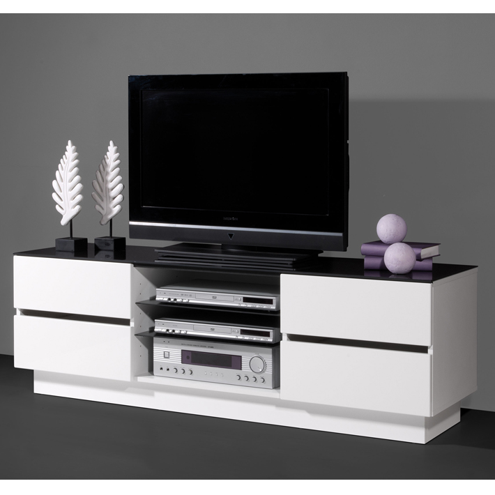 Meuble tv bois naturel clair