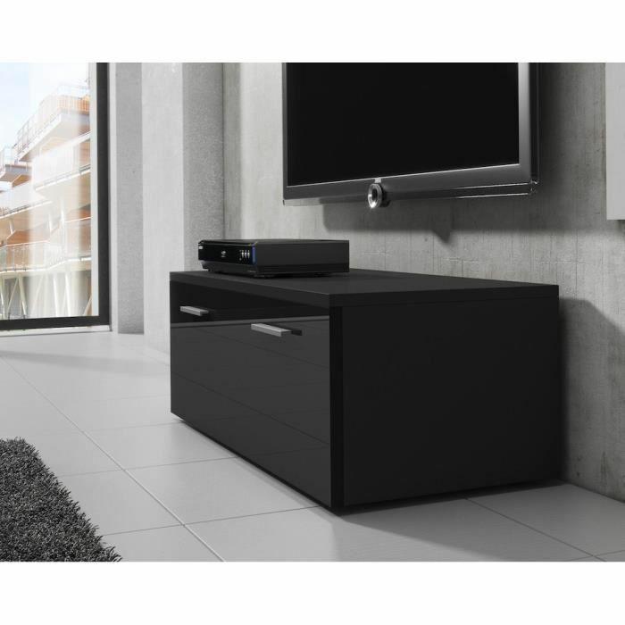 Kora meuble tv 100 cm avec éclairage led