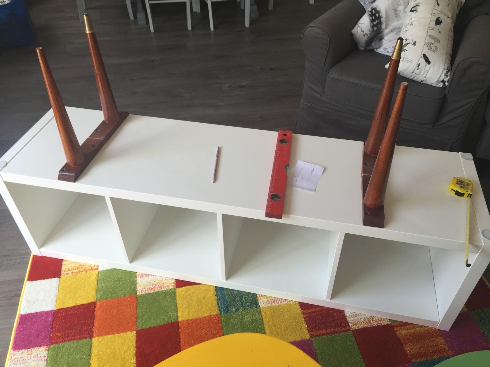 Meuble transformé en meuble tv