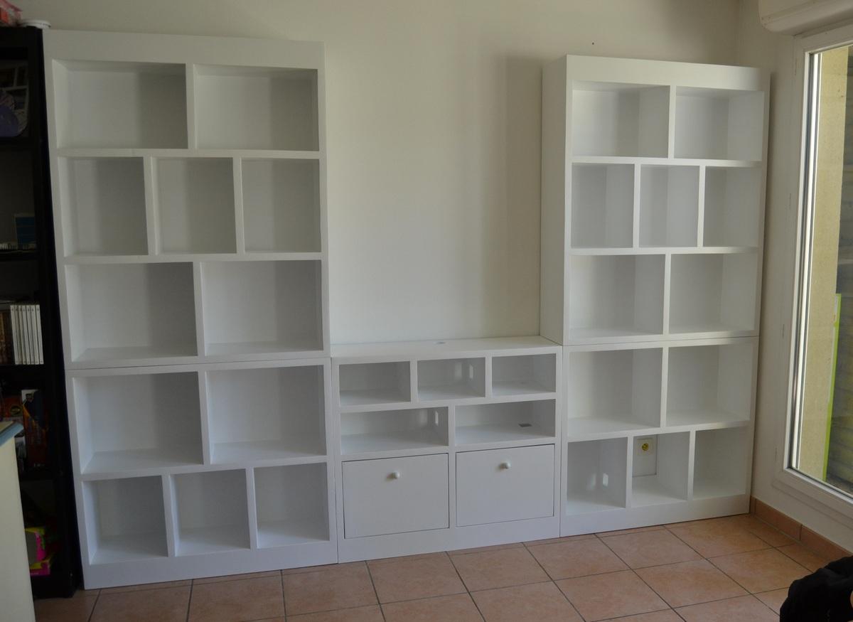 Meuble tv bibliothéque