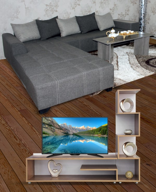 Table basse plus meuble tv