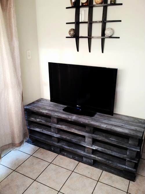 Meuble tv palettes en bois