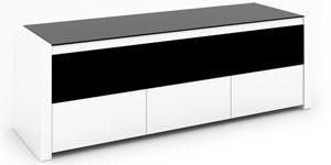 Meuble tv de conti mezza xl blanc et noir