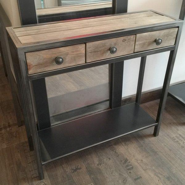Design meuble metal