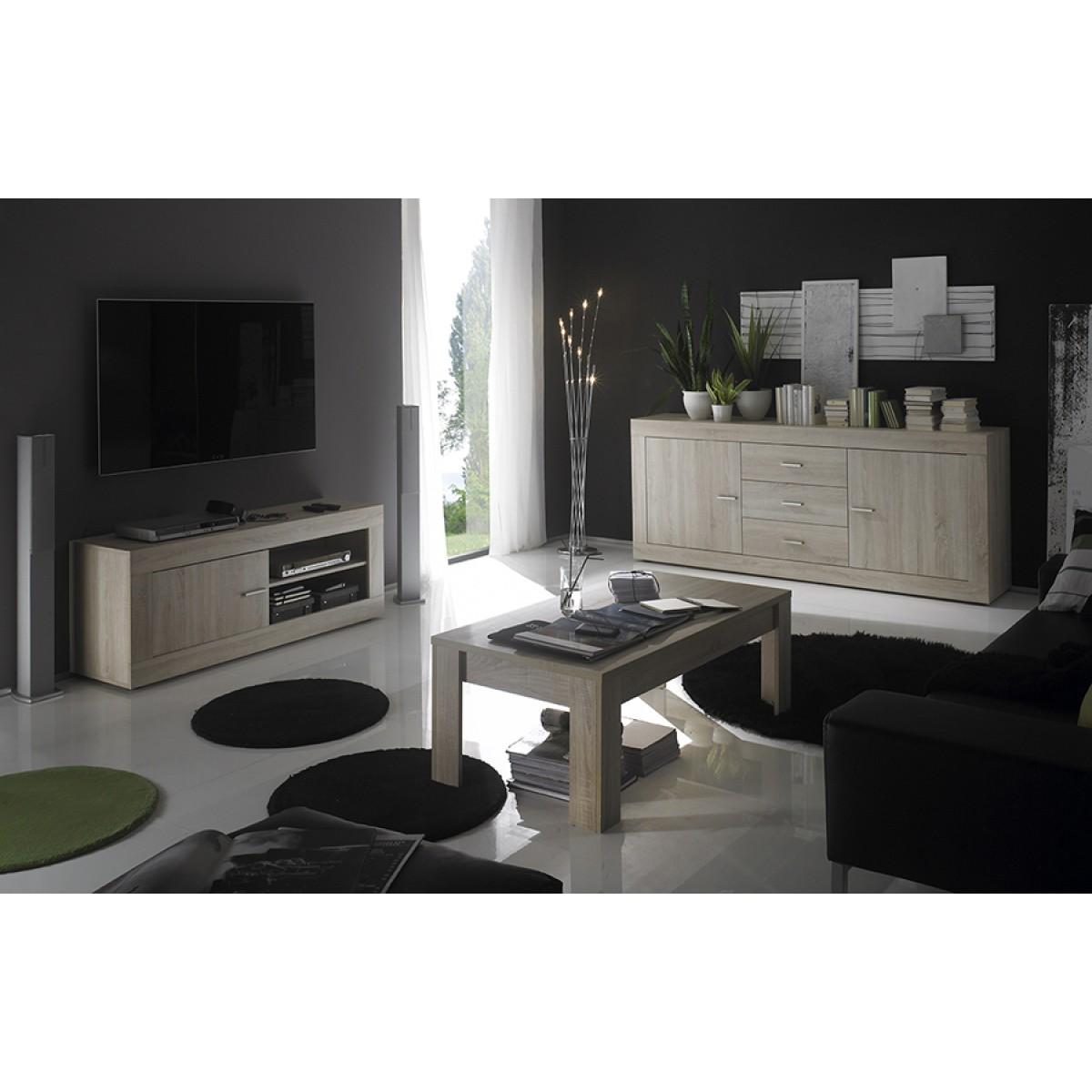 Ensemble table buffet meuble tv