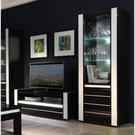 Meuble tv hifi vitrine