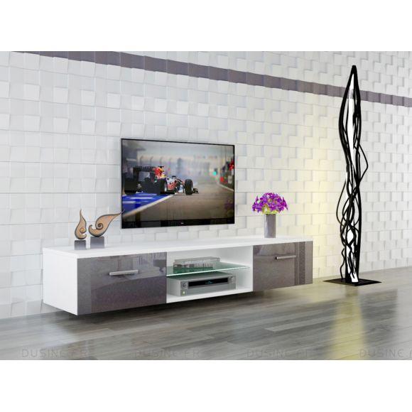 Meuble tv suspendu minimaliste