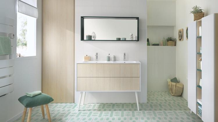 Meuble rangement design salle de bain