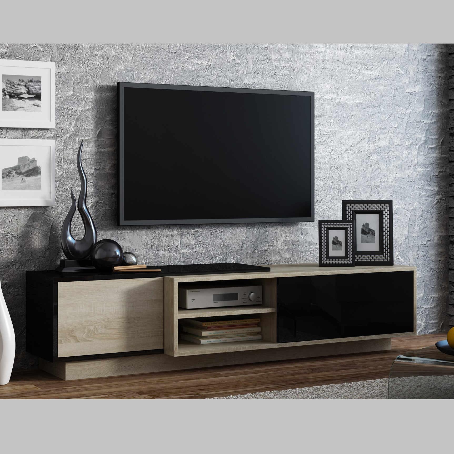 Meuble tv 123 cm