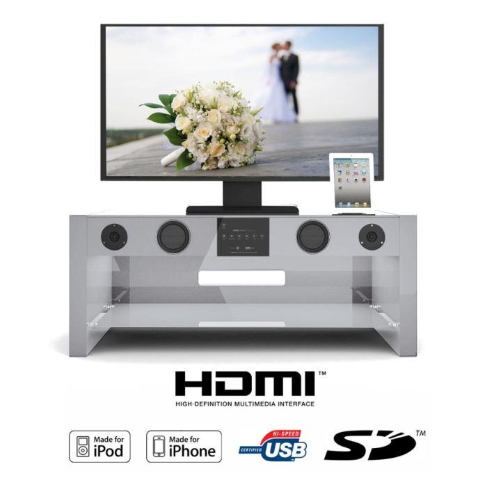Meuble tv sound vision soundstand10w