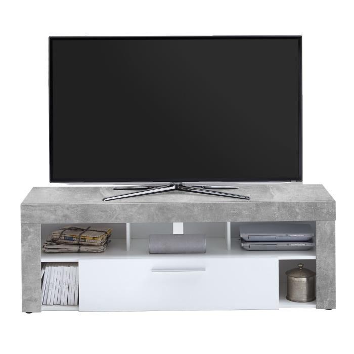 Meuble tv bas à poser 150 cm tabor