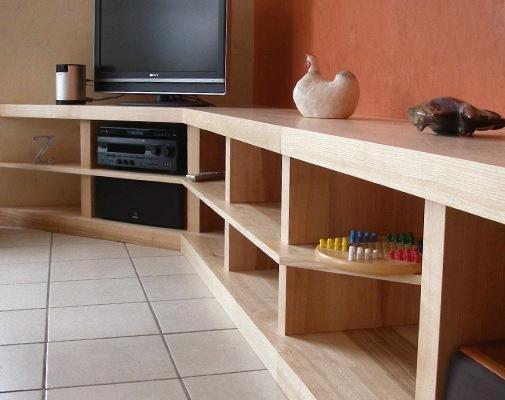 Creation de meuble tv
